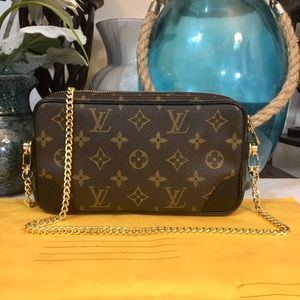 Handbags - Louis Vuitton Marly Dragonne PM Handbag 👜 Black